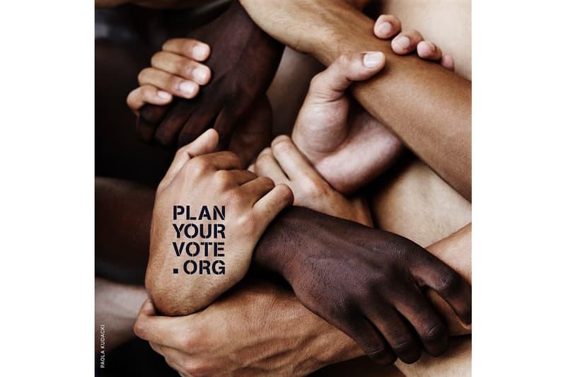 Plan Your Vote Art Initiative Free Advocacy Images hank willis thomas marilyn minter robert longo photographs free library Wangechi Mutu Calida Garcia Rawles