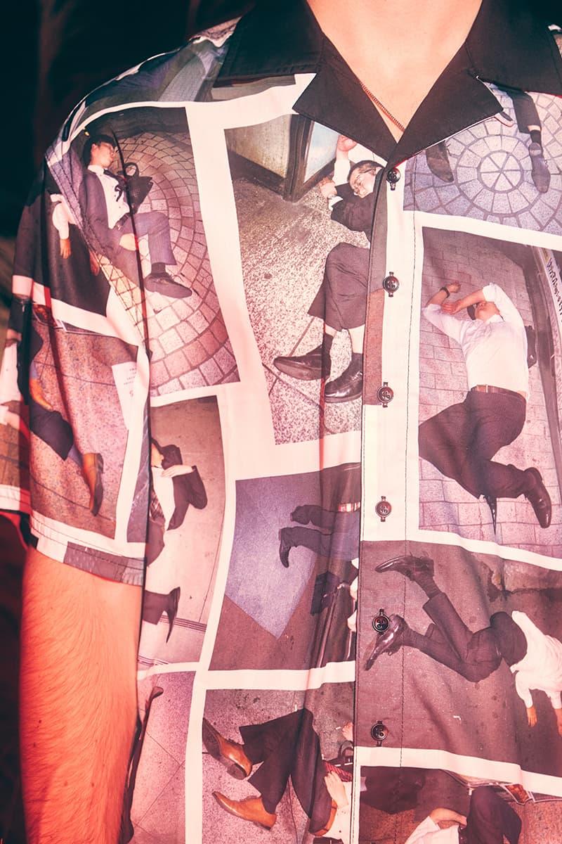 PLEASURES Fall Winter 2020 Collection Lookbook Release Jacket Bag Hat Hoodie Pants Pawel Jaszczuk Mossy Oak Crocs Taikan