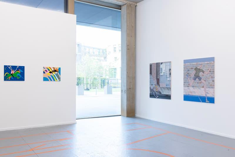 plus one gallery extra time group exhibition jean jullien joakim ojanen ryan travis christian