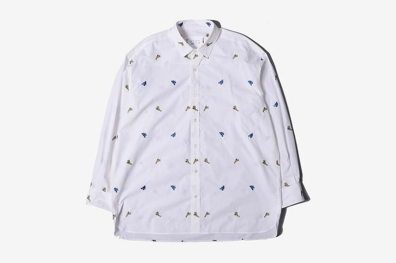 James Jarvis Poggy P ROOM THE WORLD 2020 Capsule menswear streetwear blazers shirts shorts trousers t shirts graphics hats rugs