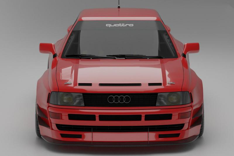 Prior Design Audi Coupé B3 1988 German Automotive Performance Car Rally Cars Tuning Wide Bodykit Custom Limited Edition Motorsports