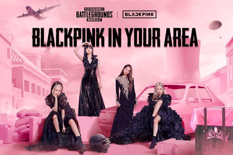 PUBG BLACKPINK Collaboration Announcement Info Jisoo Jennie Rosé Lisa Guns Costumes