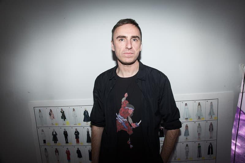 Raf Simons Is Launching Womenswear For SS21 Dior Jil Sander Calvin Klein