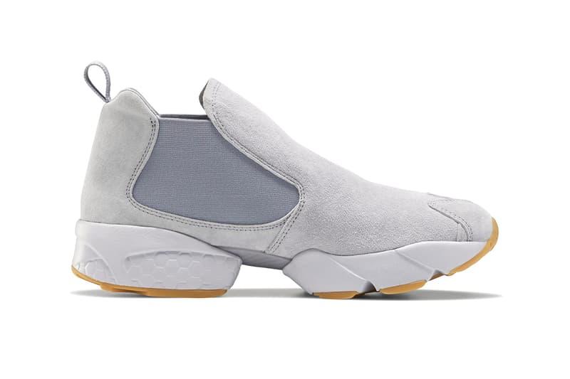 Reebok Instapump FV0393 FV0394 FV9203 Fury Chelsea Boot Sneaker Womens Release Information Hybrid Shoe Design Footwear Drop Info Formal Leather Nubuck Vector Webbing UTILITY BEIGE / ALABASTER / BLACK COOL SHADOW / COLD GREY 2 / REEBOK RUBBER GUM-02