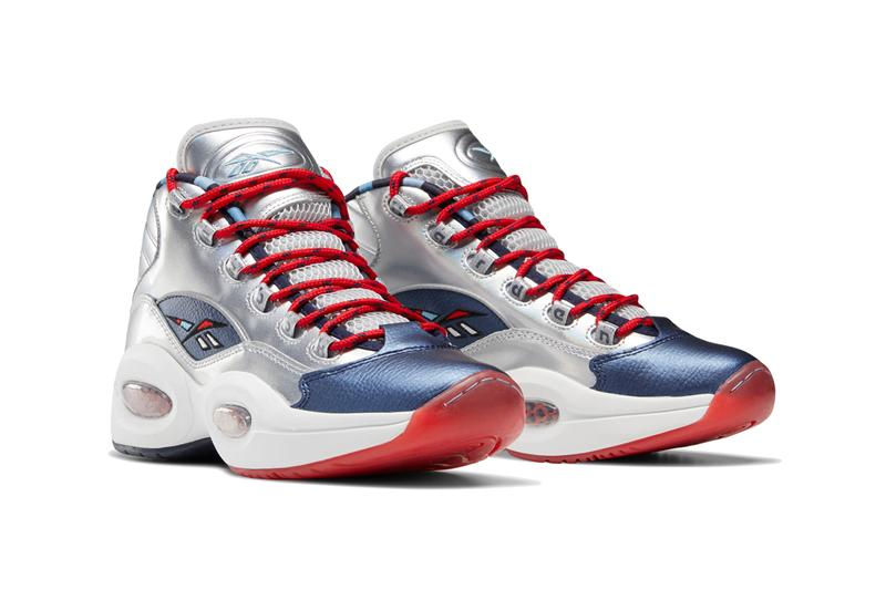 allen iverson james harden reebok question mid crossed up step back matte silver blue cadet primal red FZ1366 official release date info photos price store list buying guide