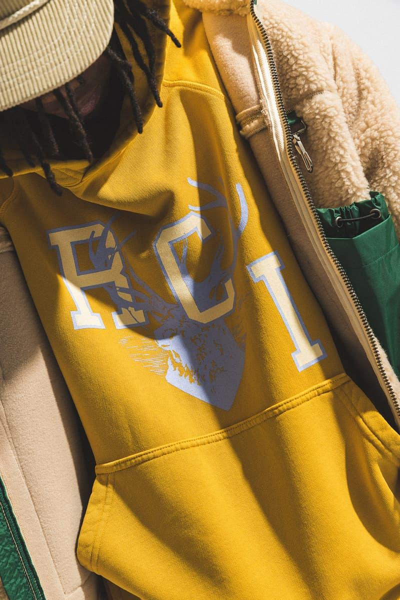 "Reese Cooper Fall Winter 2020 ""If A Tree Falls"" Collection FW20 HBX Shop Now Garments Menswear Technical Hiking Americana Prints Vintage T Shirts Sherpa Jacket Fleece Bandana Work Jackets"