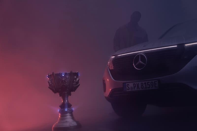 Riot Games Mercedes-Benz Automotive Sponsor Announcement Info Worlds All-Stars Mid-Season Invitational League of Legends