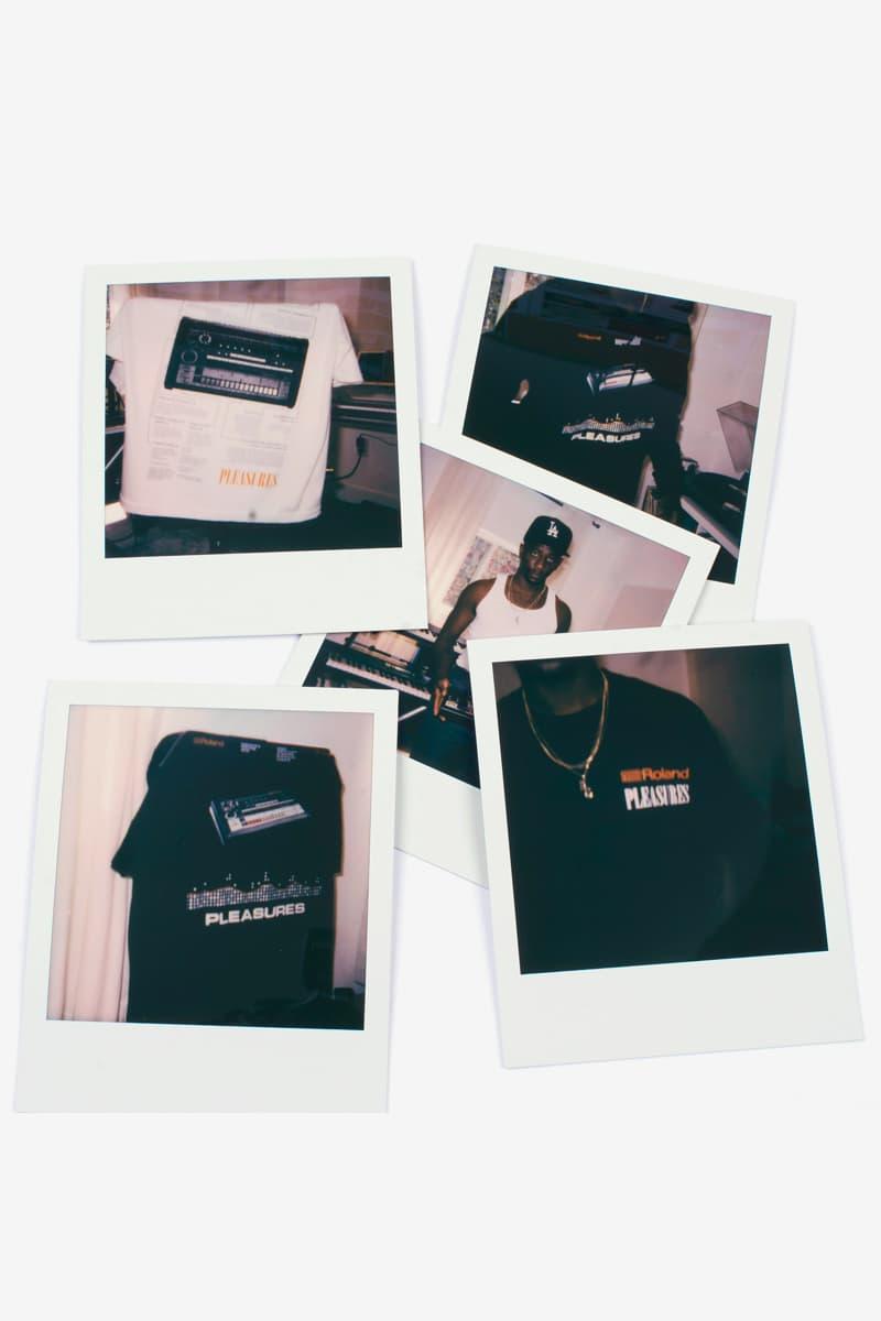 Roland PLEASURES Capsule 40th anniversary Tr-808 Release T-shirt Info Date Buy Price black white