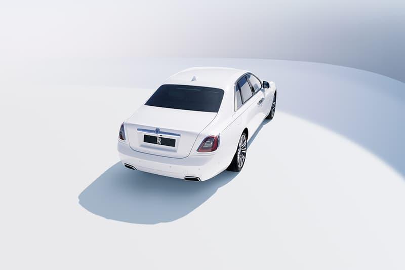 rolls royce premium luxury automaker cars ghost v12 engine magic carpet ride