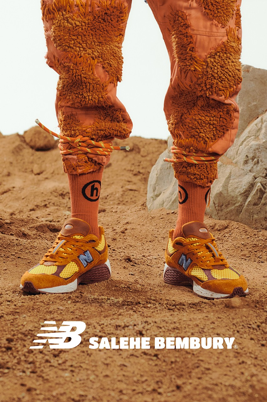 salehe bembury new balance 2002r peace be the journey orange blue 860v2 interview exclusive hypebeast official release raffle date info photos price store list buying guide