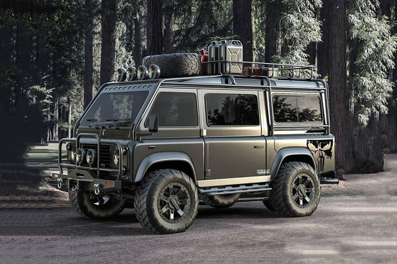 Samir's Customs Land Rover Defender Samir Sadikhov Render Unofficial Van Truck 'Mad Max' Defender 90 110 Van British Automotive Classic SUV 4x4