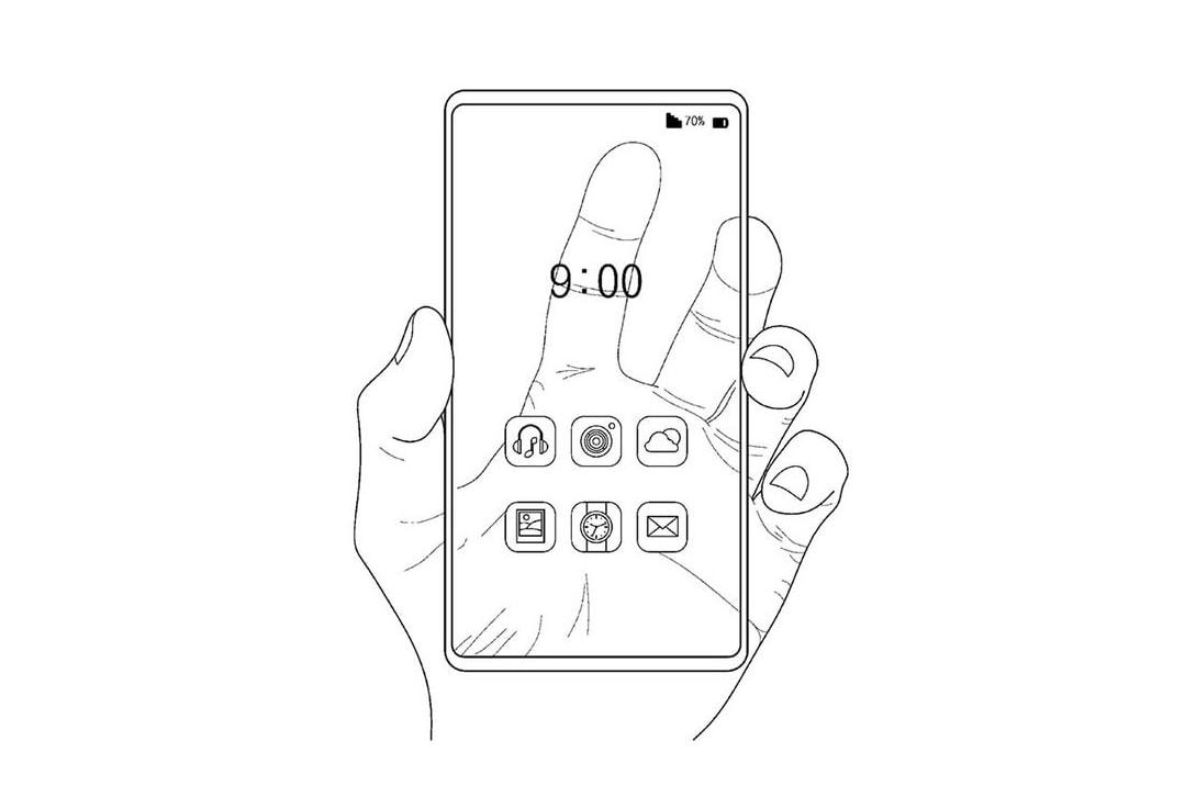 Samsung patenteia tela transparente do smartphone transparente translúcido coréia célula opaca