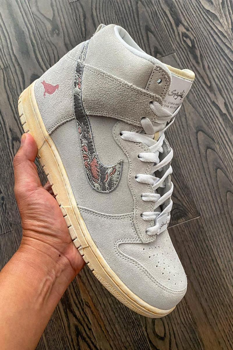 sbtg jeff staple nike dunk hi high pigeon fury ntwrk hoodie mask official release date info photos price store list buying guide