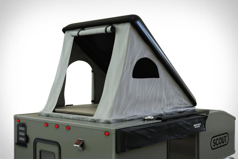 scout kenai rooftop camper camping off road grid truck pickup outdoors Washington