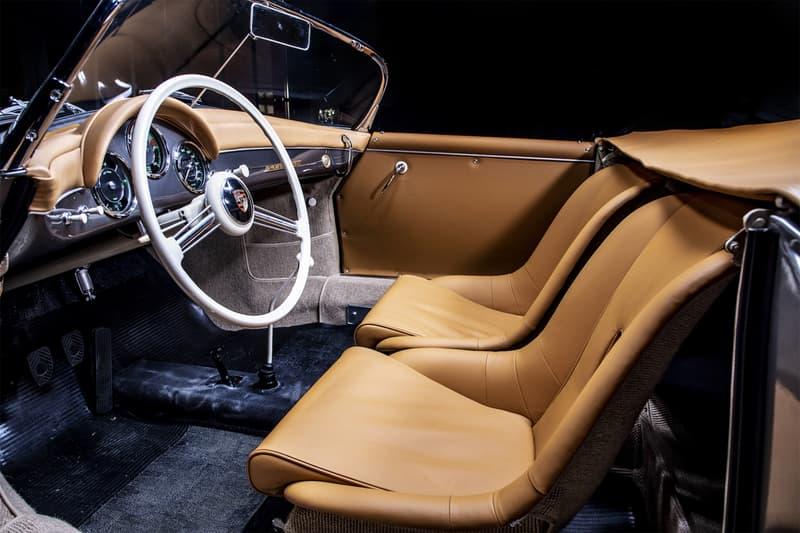 serge heitz classic cars 1958 porsche 356 a speedster outlaw convertible racing