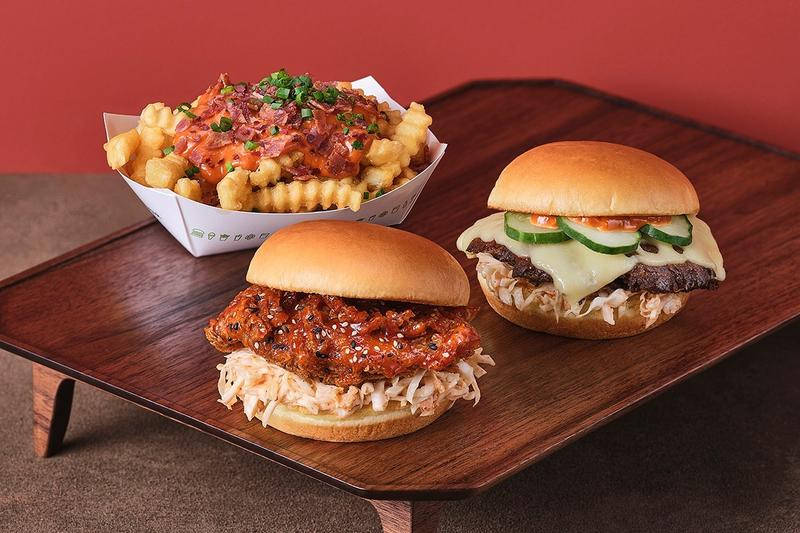 Shake Shack South Korea Gochujang Menu Items Launch Info burger beef chicken sandwich fries