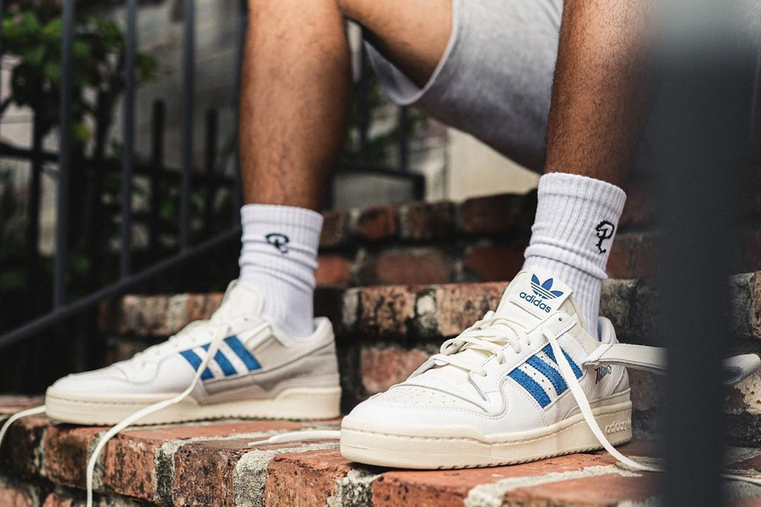 sneaker politics adidas originals forum 84 blue white giveaway raffle official release date info photos price store list buying guide