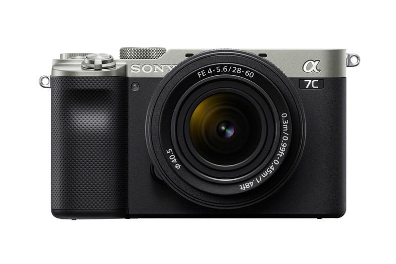 sony alpha 7c camera full frame sensor smallest lightest exmor r cmos 4k shooting photography video recording