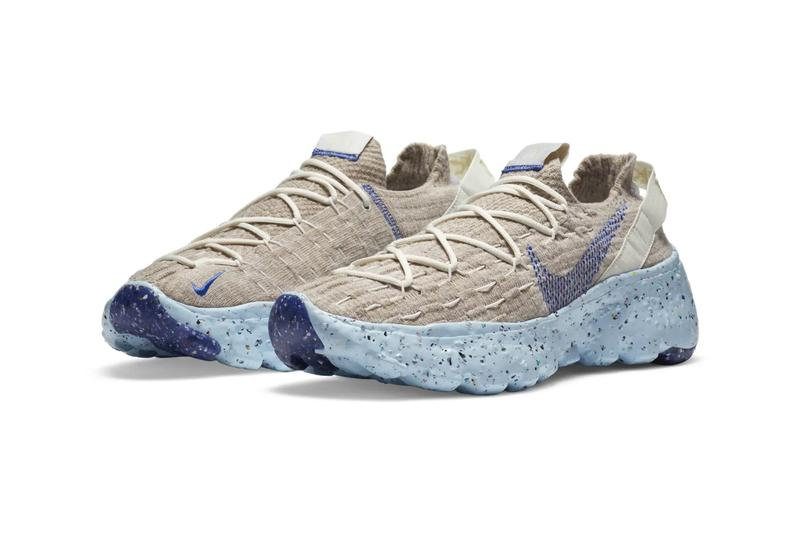 SPACE HIPPIE 04 This is Trash Astronomy Blue CZ6398-101 release sneakers footwear kicks swoosh trainers recycled  this is trash