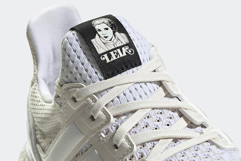 """'Star Wars' x adidas UltraBOOST DNA """"Princess Leia"""" """"Chalk White / Cloud White / Core Black"""" FY3499 'The Empire Strikes Back' BOOST Running Shoe Hype Footwear Sneaker Release Information Collaboration Kanye West UB"""