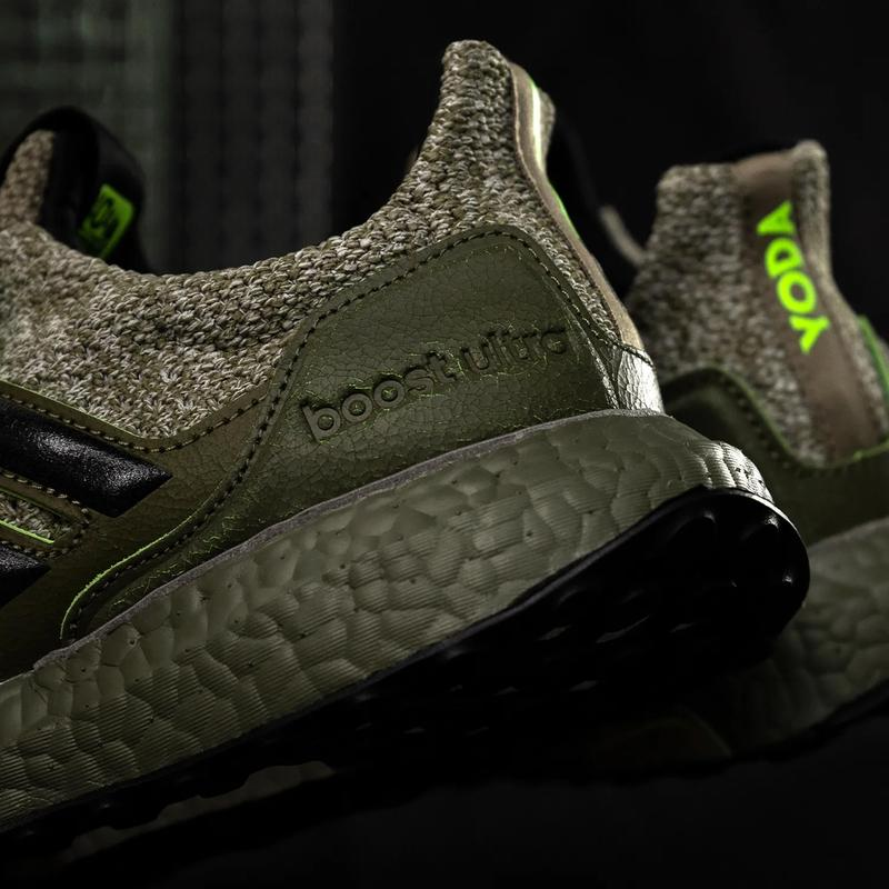 star wars empire strikes back yoda jedi adidas running ultraboost trace cargo olive core black raw khaki FY3496 official release date info photos price store list buying guide