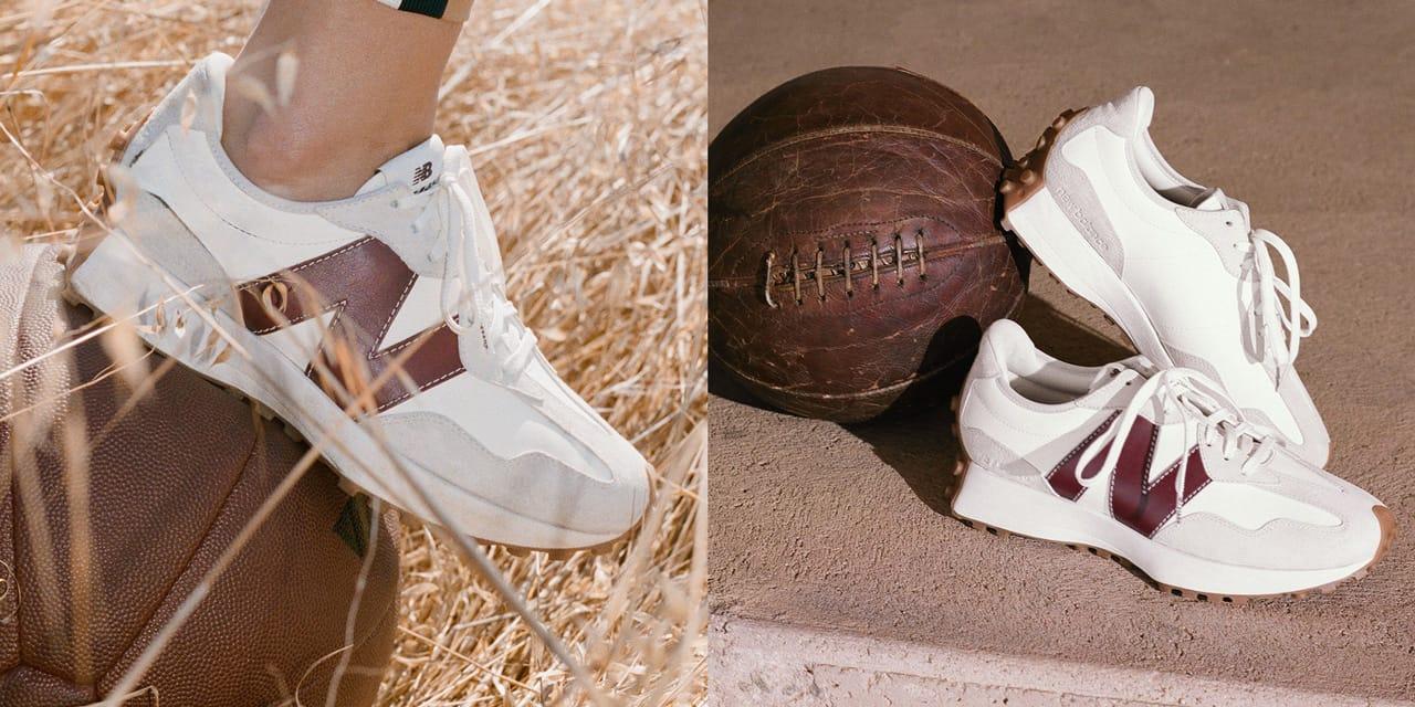 STAUD x New Balance 327 Sneaker