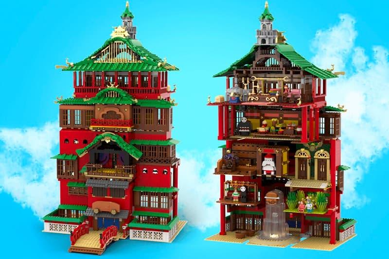 studio ghibli Spirited Away Bathhhouse LEGO IDEAS project Info legotruman yubaba chihiro haku