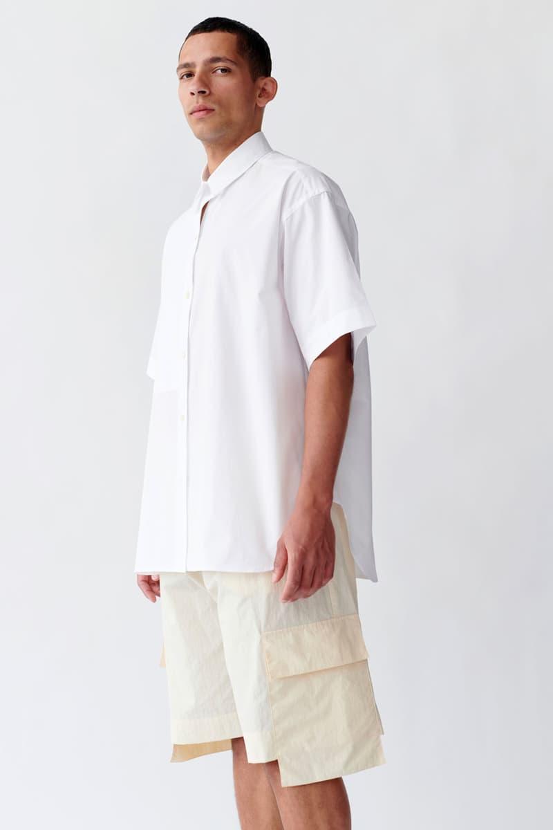 Studio Nicholson spring summer 2021 ss21 lookbook collection menswear