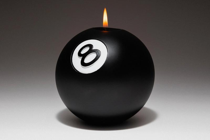 Stüssy 8 Ball Candle Release Buy Price Info