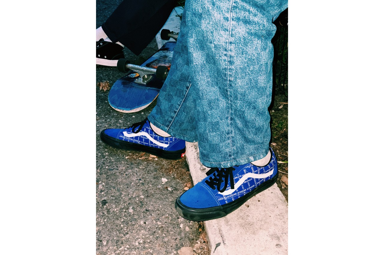 Supreme x Vans Half Cab \u0026 Old Skool