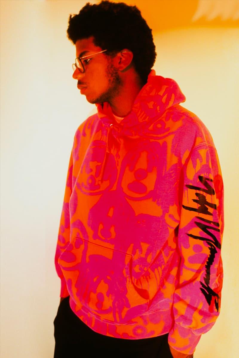 Supreme Yohji Yamamoto Fall Winter 2020 Collection Release Info Buy Price Date Leather Jacket Blazer T shirt Sweater Hoodie Beanie Sancheeto Peter Saville Yuuka Asakura