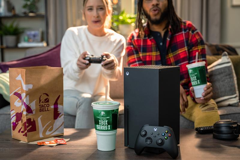 Taco Bell Xbox Series X Early Release Giveaway Info How drink entry site