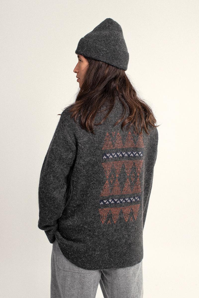 the English difference garbstore fall winter 2020 collection knitwear patterns TED