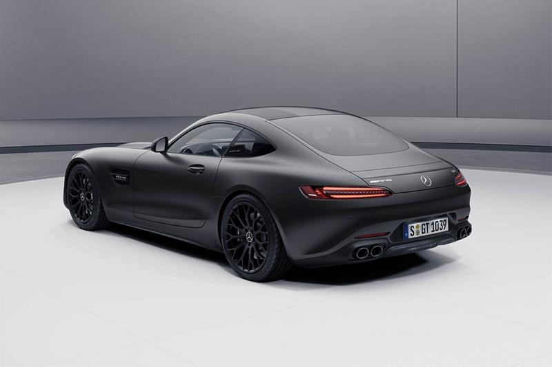 mercedes amg gt coupe convertible stealth edition blacked out 2021