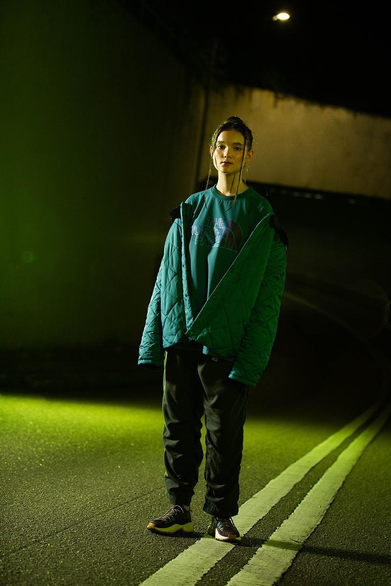 "The North Face Urban Exploration ""Trotter Gold"" Collection Lookbook Release Information Outerwear FW20 Fall Winter 2020 DWR City Pants Fleece Borg Denali"