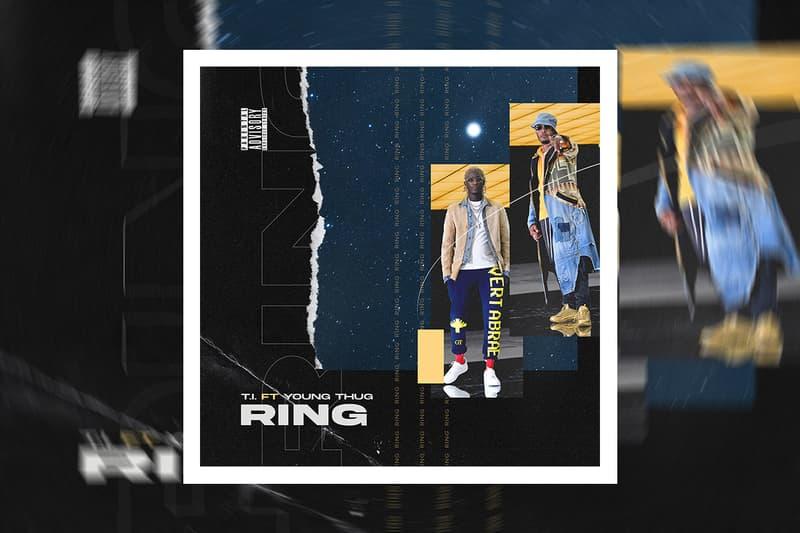 T.I. Young Thug Reunite Single Ring Dime Trap 50 Cent Twenty Four Seven
