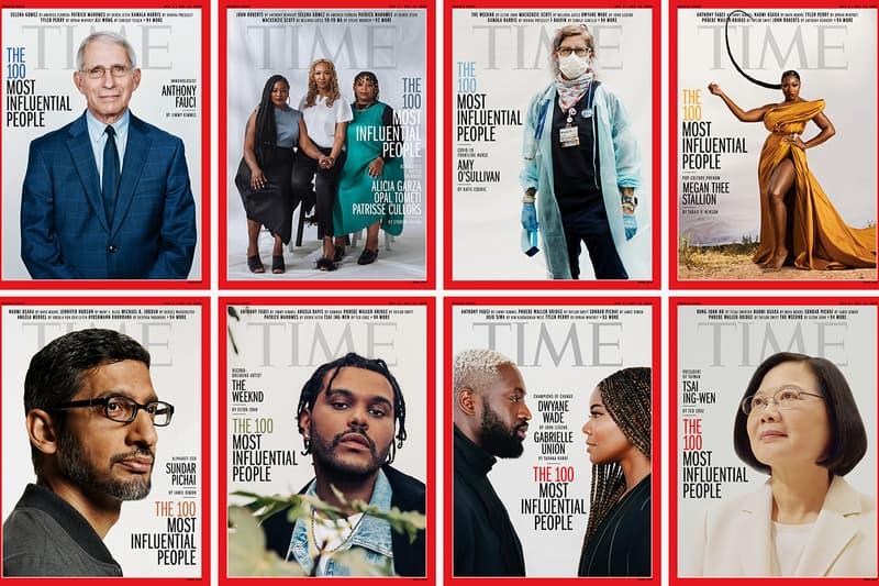 time 100 magazine most influential people in the world 2020 the weeknd megan thee stallion gabrielle union dwyane wade lewis hamilton full list denzel washington michael b jordan