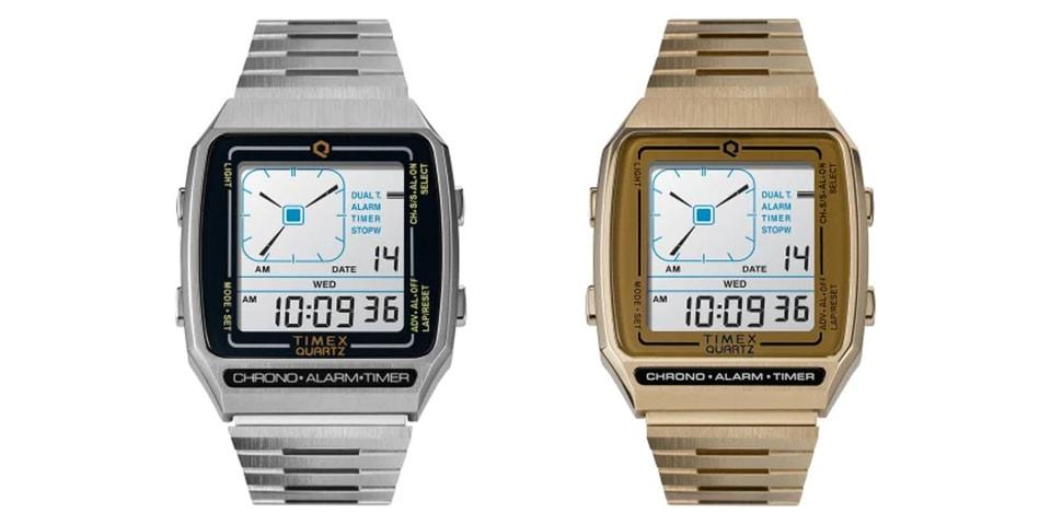 Timex Reissues Nostalgic '80s Q Timex Digital LCA