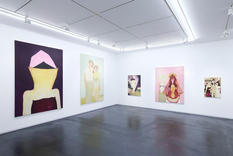 "Tomoo Gokita ""Moo"" Exhibition Taka Ishii Gallery tokyo new color paintings abstract figures"