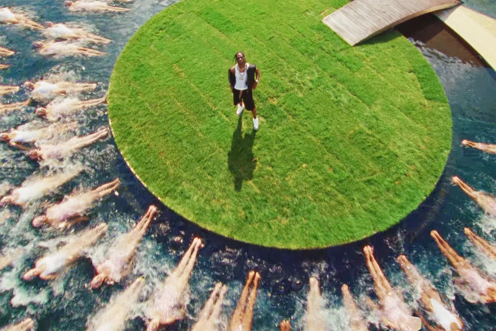 트래비스 스콧의 'FRANCHISE' MV 속 마이클 조던 저택 살펴보기, M.I.A., 엠아이에이, 영 떡, 시카고 불스, 라스트 댄스