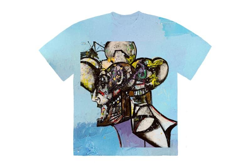 Travis Scott Portrait FRANCHISE T-Shirt Merch wav radio episode 11 chase b mia m i a young thug thugger