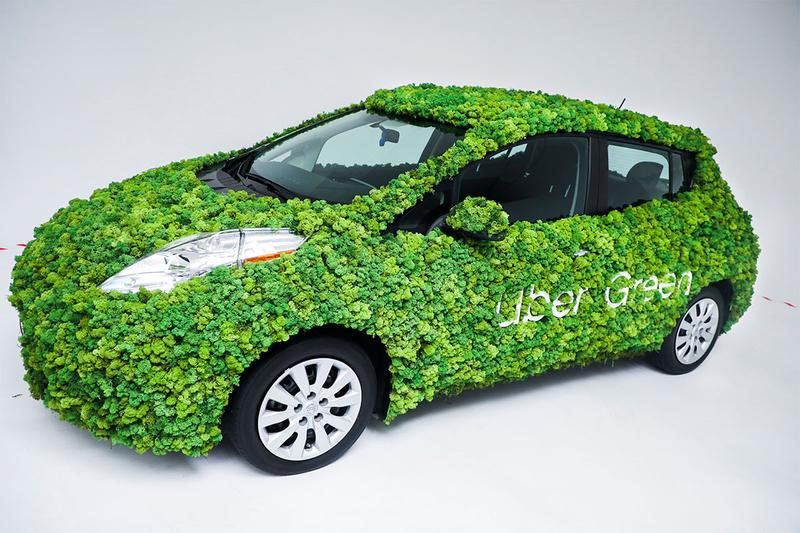 uber green climate change environment sustainability united states of america canada ride share option low carbon emissions