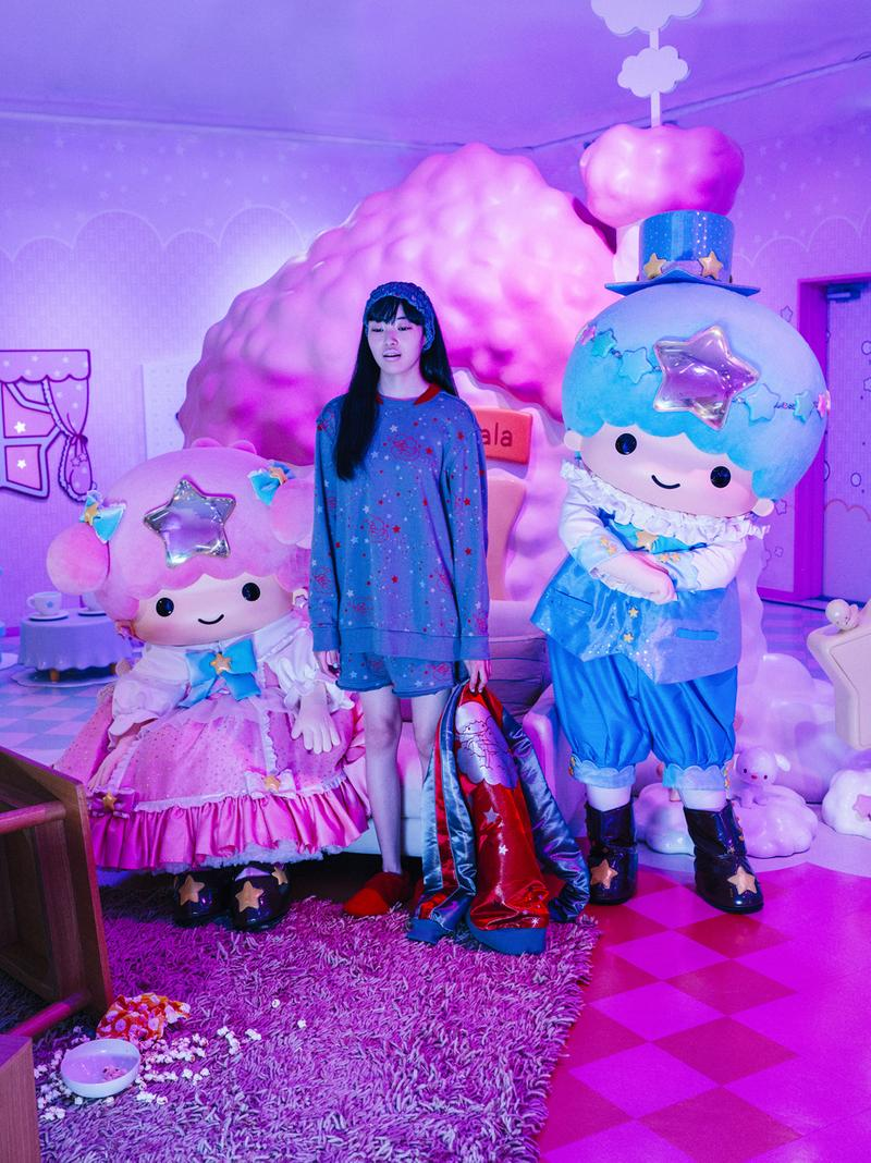 UNDERCOVER SS21 Women's The SIXTH SENSE Collection Lookbook spring summer 2021 sanrio hello kitty nike ispa sneakers collaboration my melody Paris Fashion Week