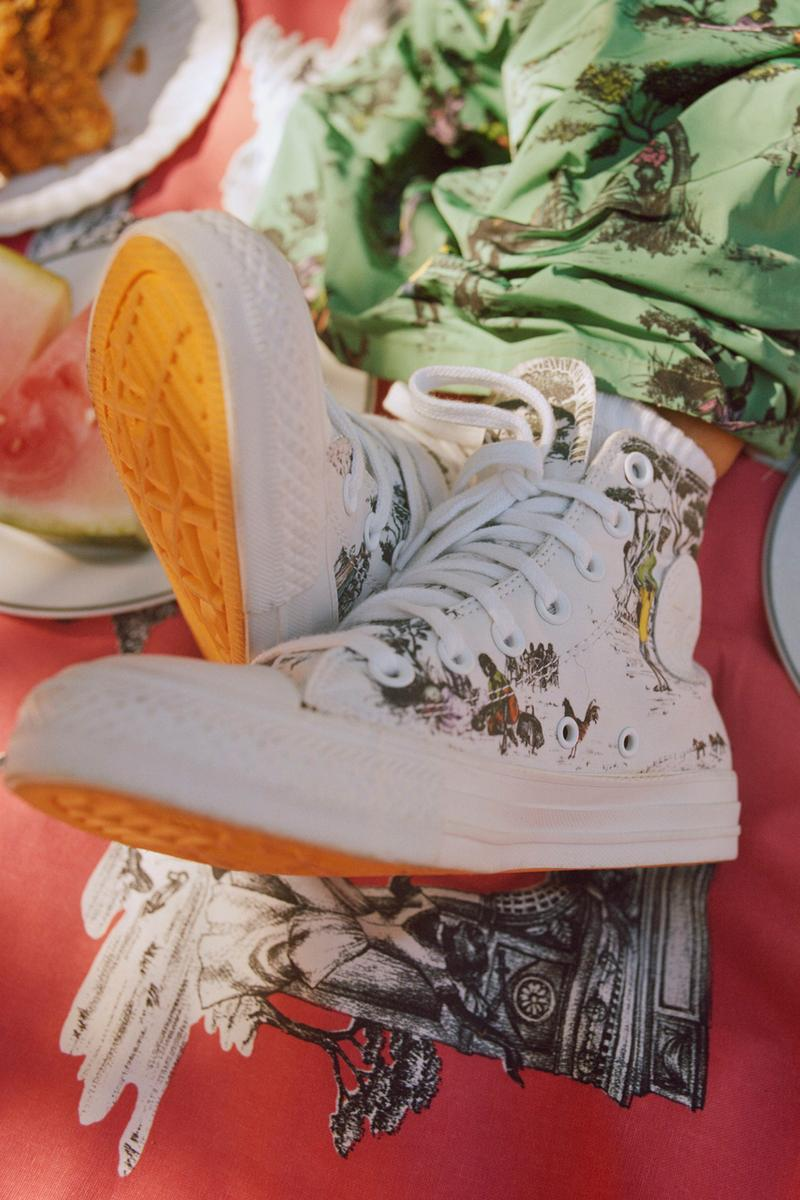 chris gibbs union la los angeles converse chuck taylor all star hi high Sheila Bridges harlem toile print hoodie bucket hat official release date info photos price store list buying guide exclusive interview hypebeast