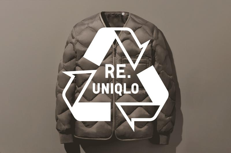 Uniqlo Re.Uniqlo Sustainability Program News Japan recycled down environment