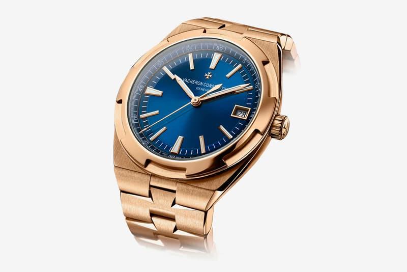 Vacheron Constantin Overseas 18k Pink Gold 4500V/110R-B705 Watch Info Geneve Rose Gold Pink Gold Swiss Watch Maltese Cross