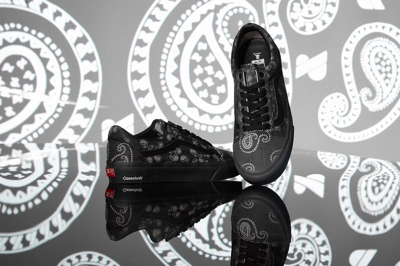 Case Study Joins Vault by Vans for a Jacquard Paisley Old Skool sneakers Seoul South Korea skate