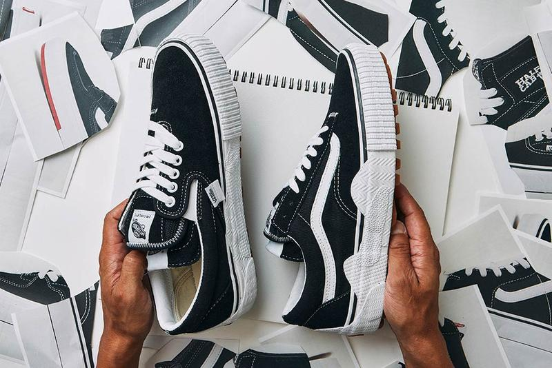 vault by vans sk8 hi half cab slip on era rowley old skool cut and paste pack black white gum official release date info photos price store list buying guide