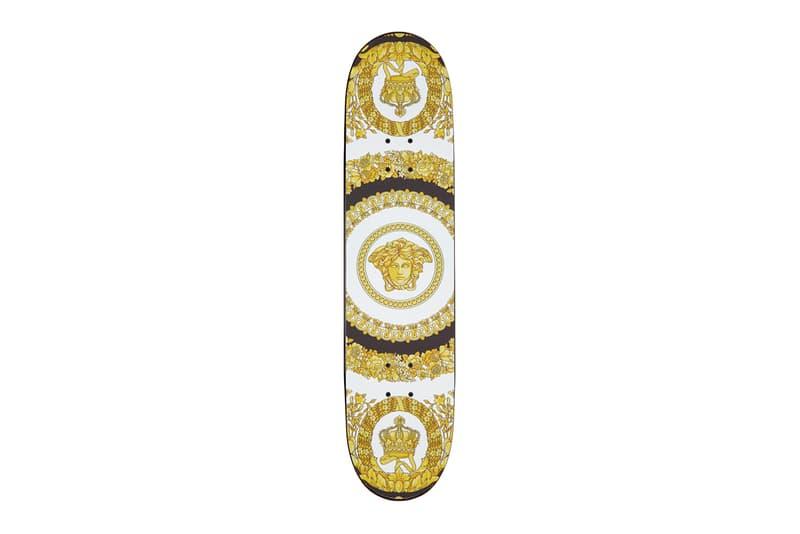 Versace Logo Skateboard Deck skateboarding spring summer 2020 collection accessories sports ss20