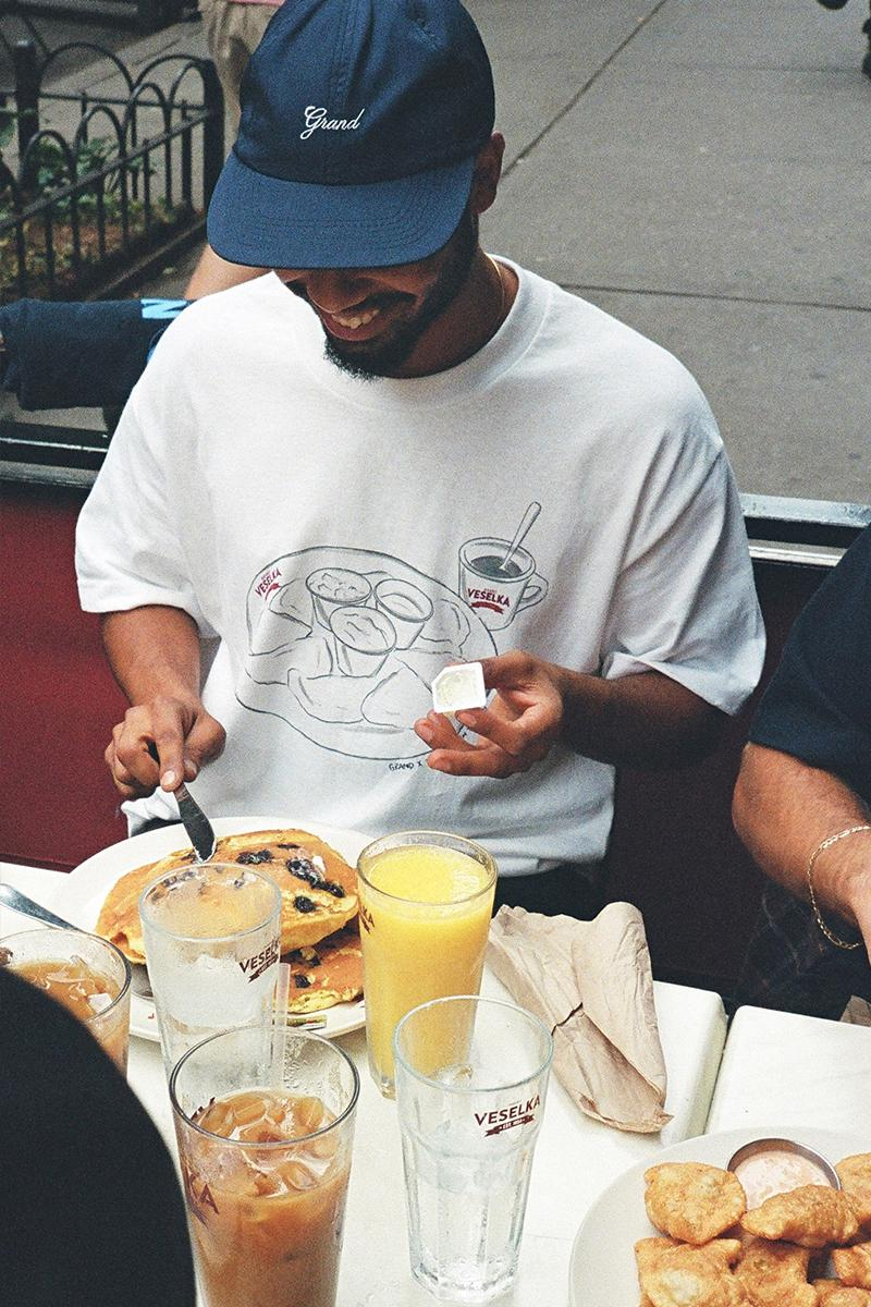 Veselka Grand Collection T-Shirt Collab Release Info pierogies